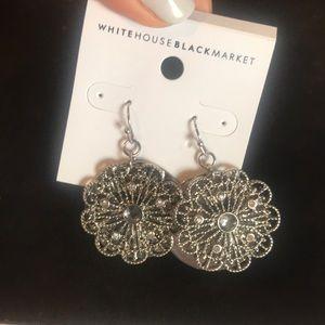 Silver Earrings - White House Black Market